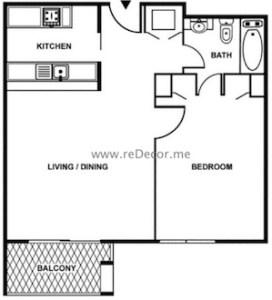 GoldCrest 2 1 bedroom interior decor