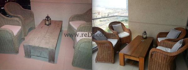 furniture makeover restoring old outdoor dubai