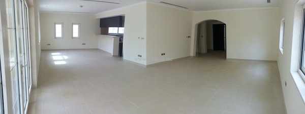 3 bedroom villa interior in Jumeirah park Dubai
