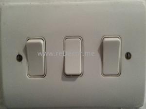 change old switches to modern interior design