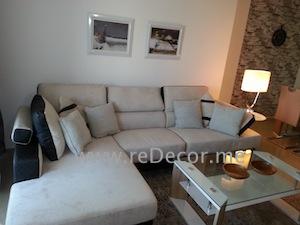 simple living room decor dubai