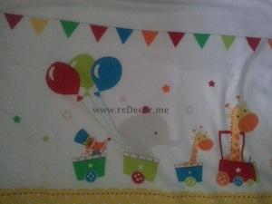 circus style nursery for boy newborn dubai decor