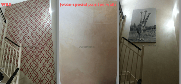 special painted walls by Jotun dubai interior