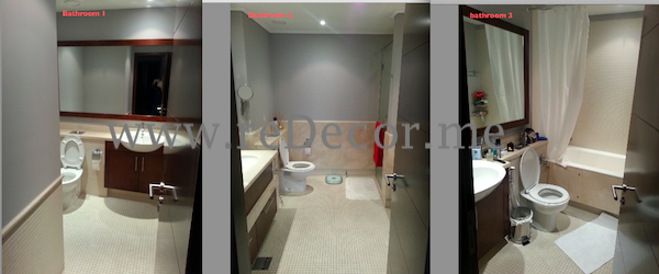 bathroom renovation dubai downtown
