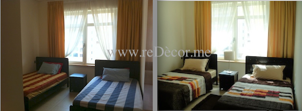 bedroom makeover interior decor dubai