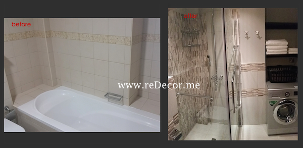 Remodelling and design, organising Master bathroom in Dubai