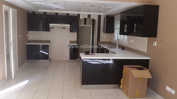 old kitchen remodelling in Meadows, Dubai