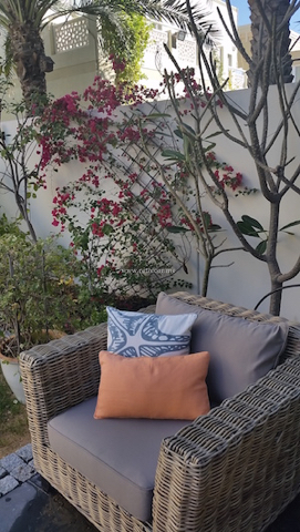 outdoor furniture, landscaping Dubai interior