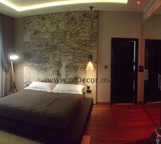 before and after Master bedroom, Master bedroom, LED lighting, wooden flooring, mirror wardrobes, gypsum ceiling, DIFC, Dubai