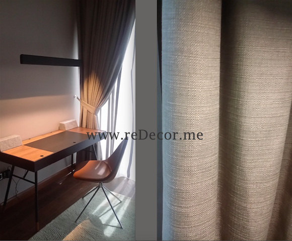custom made curtains, Interior decor and design, modern contemporary style, Dubai, DIFC, before and after Master bedroom, Master bedroom, LED lighting, wooden flooring, mirror wardrobes, gypsum ceiling, DIFC, Dubai, Interior decor and design consultancy, luxurious interiors