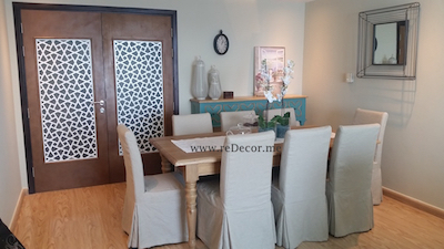 dining , modern design and decor, Dubai interior decor
