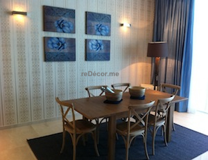 dining , modern design and decor, Dubai interior decor, palm jumeirah consultation, oceana