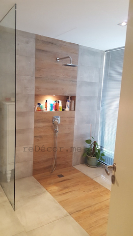 walk in shower, bathroom remodelling, design and decor, Dubai consultation