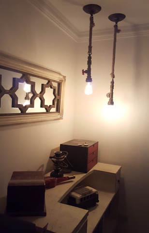 home bar area, bohemian dressing table, wall tiles, kitchen fitout dubai, dubai kitchen design, louvered cabinets, corian work top, consultation, dining kitchen, french decor tiles,dubai marina crown, top bar lighting, built in one piece basin, unusual floor space for kitchen, waterproof parquet, floorworld dubai, bohemian style apartment decor, recycle paint desk, cool yellow