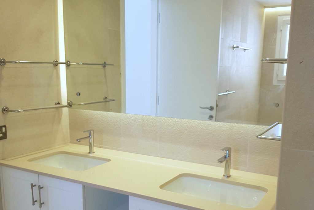 dubai bathroom renovations in Lakes, lakes villa fit out, flooring, design, kitchen, interior designer for lakes