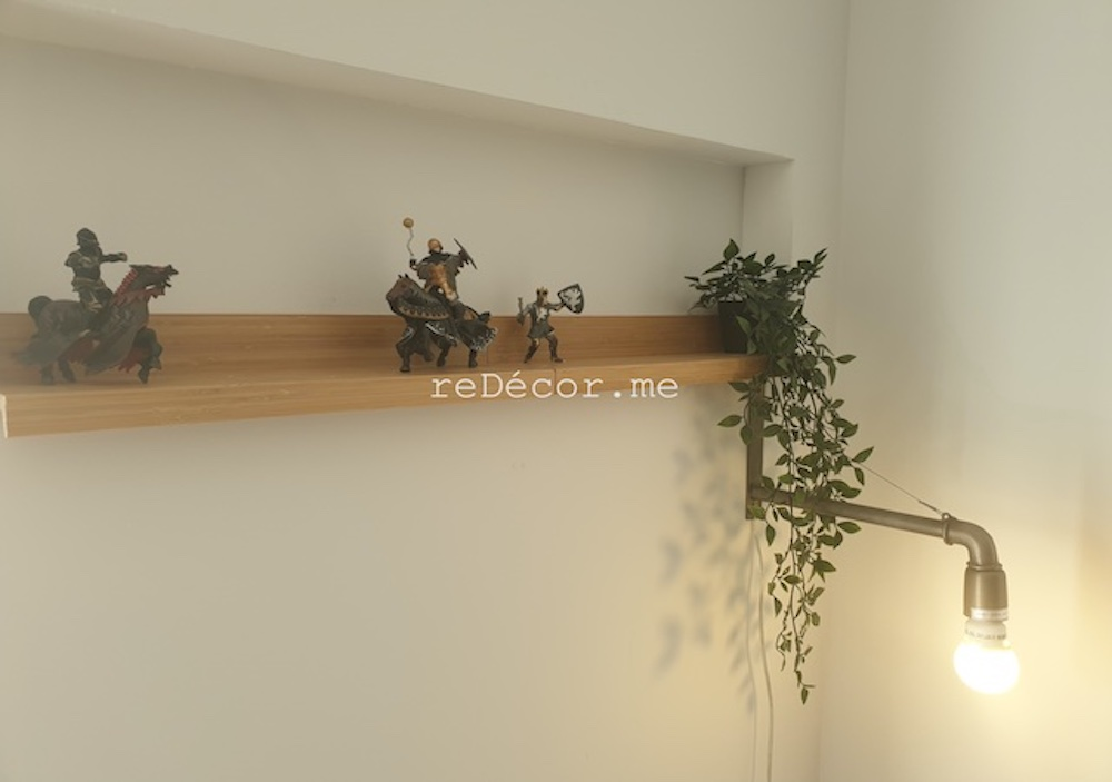 boys room styling decor, modern style, cool style, led lighting, dubai home renovation furjan villa