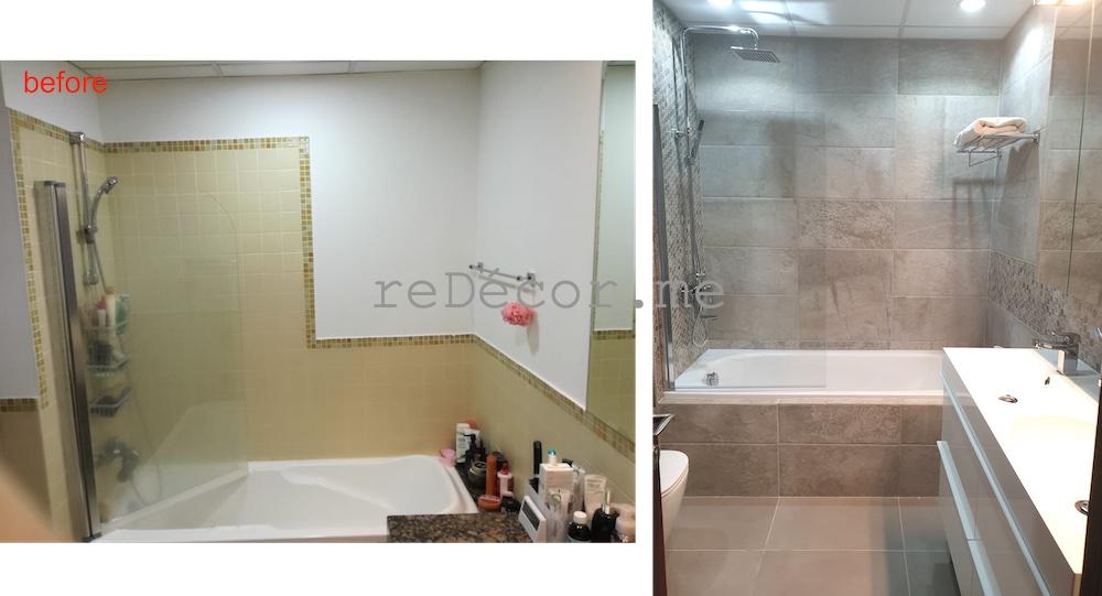 dubai fitout, home renovations, tiling