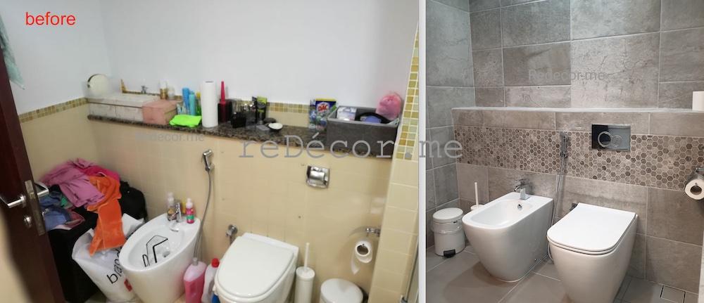 bathroom renovation in jbr amwaj shams dubai interior designer, modern bathrooms dubai design