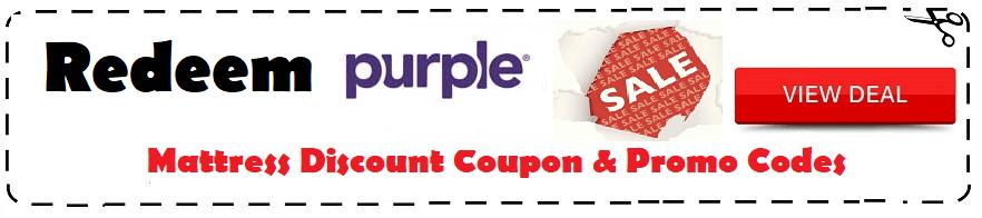 purple mattress coupon 2021 promo code