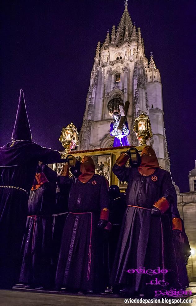 Procesión de Jesús Nazareno de Oviedo (Foto: Oviedo de Pasión)