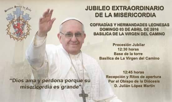 Jubileo Extraordinario de las Hermandades y Cofradías de León