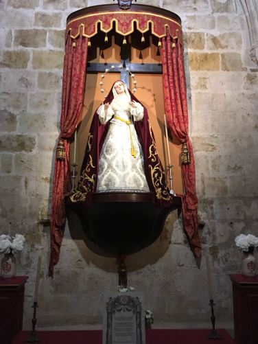Nuestra Madre de la Divina Gracia para Corpus 2018