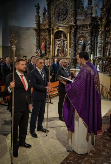 Toma de Posesión del nuevo Abad de la Redención 2019