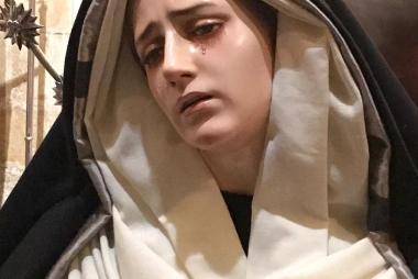 Nuestra Madre ataviada para la Cuaresma 2019