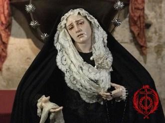 Nuestra Madre ataviada para Todos los Santos 2020