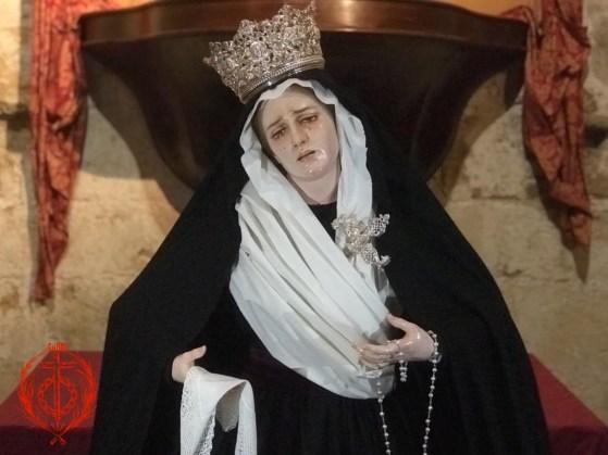Nuestra Madre de la Divina Gracia ataviada para el Tiempo Ordinario 2021