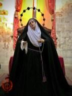 Ntra Madre ataviada para la Exaltación de la Santa Cruz 2021