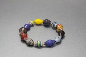 Bracelet made with Fair Trade Uganda beads