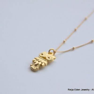 Small Owl Necklace Back in Stock