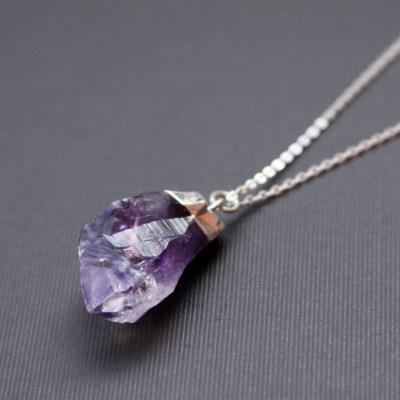 Jewelry Trends: Raw Stone Jewelry