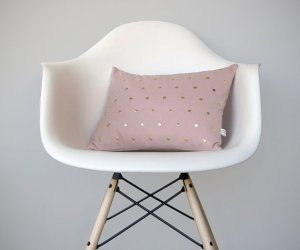 studded pillow cover