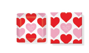 all you need is love trinket set