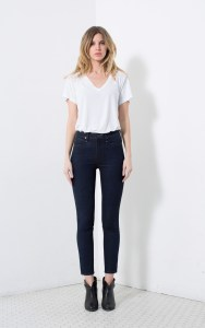 cohen high rise ankle skinny jeans