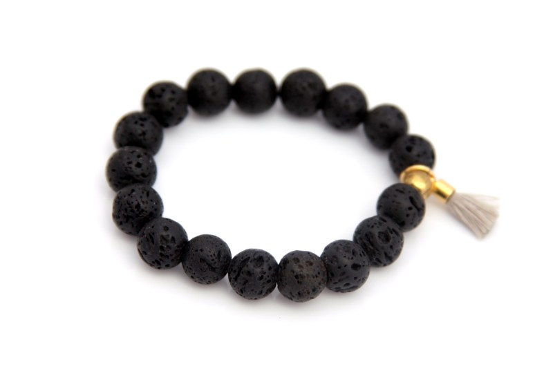 lava bead bracelet - essential oil diffuser jewelry