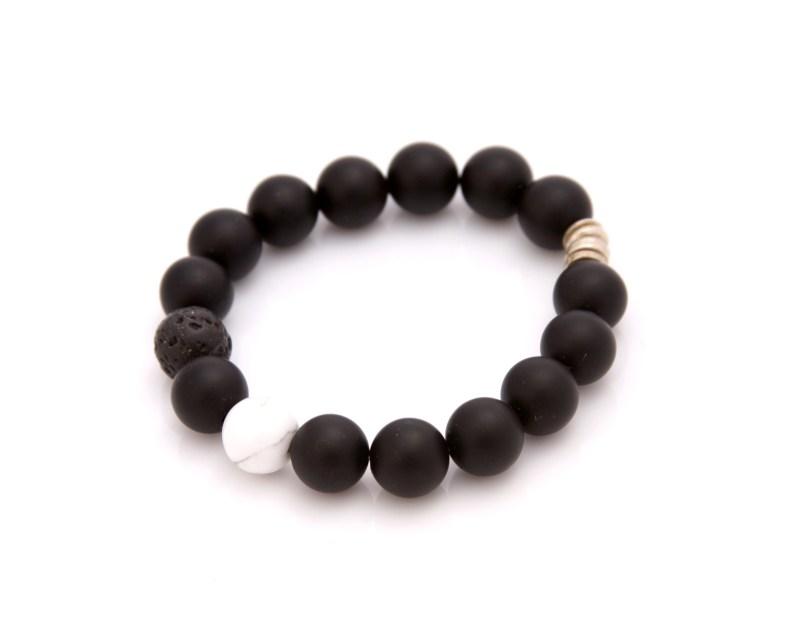matte onyx bracelet
