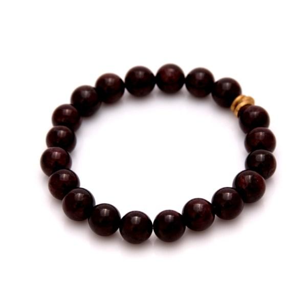 garnet gemstone bracelet
