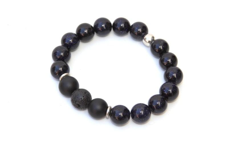 blue sparkle bracelet