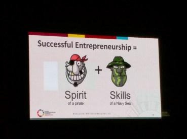 The spirit an skills of an entrepreneur Global Entrepreneurship Congress Medellin 2016
