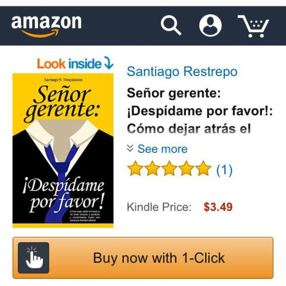 Libro digital de venta en Amazon.com