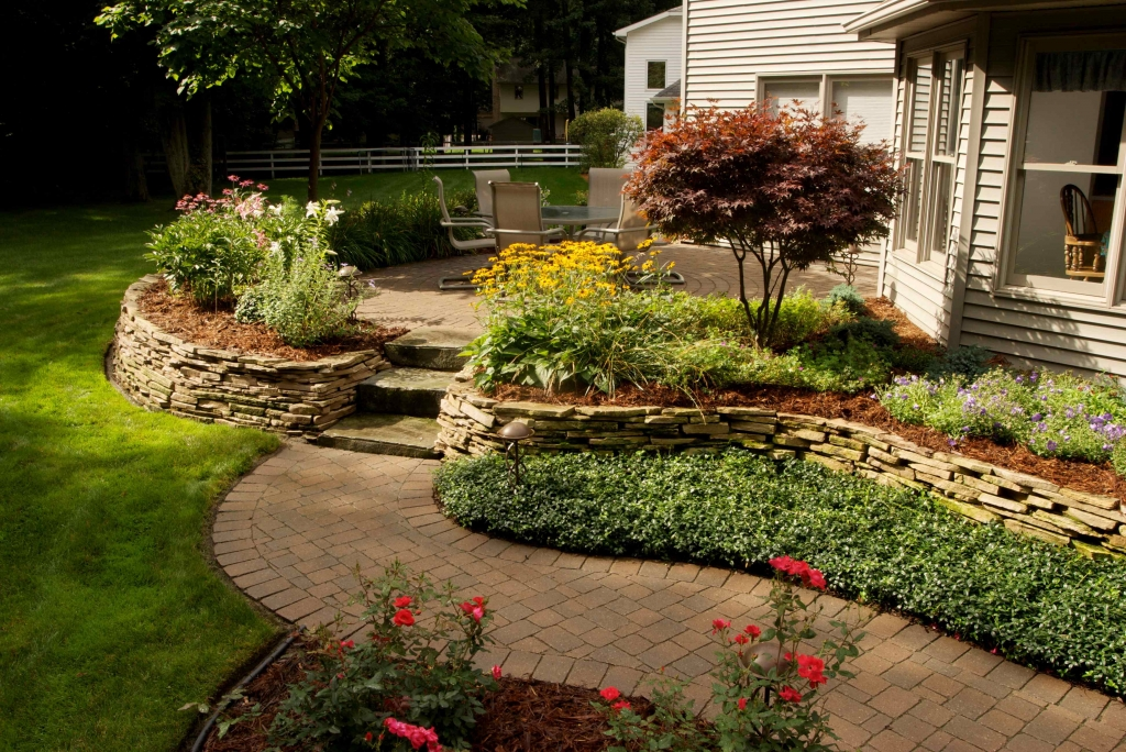 Raised Brick Paver Patios: The Ultimate Outdoor Living ... on Red Paver Patio Ideas id=53019