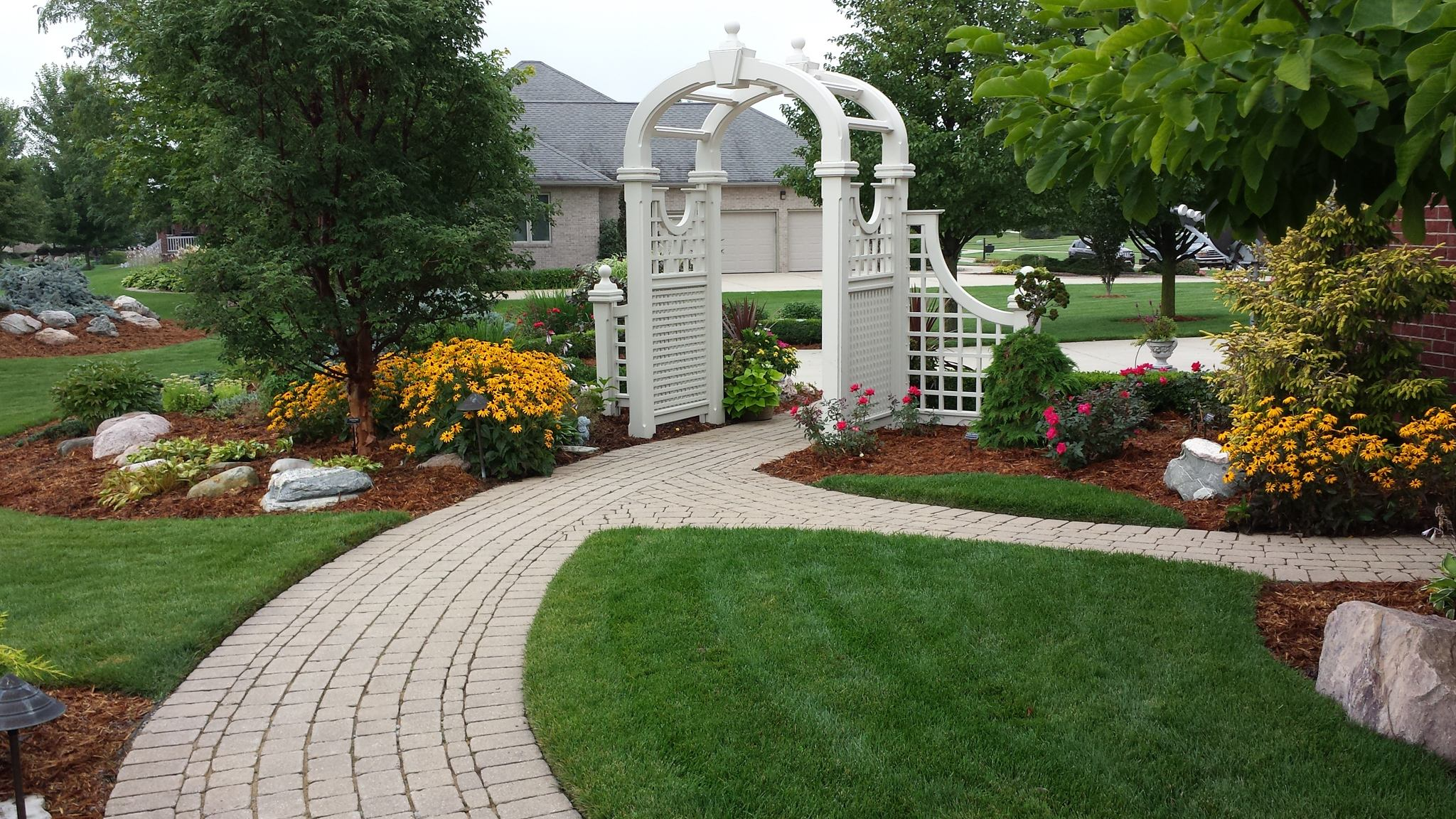 Decks Pergolas And Structures Reder Landscaping