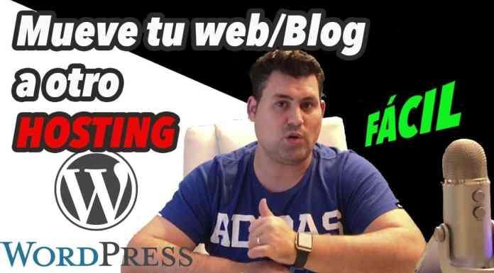 Como cambiar Wordpress de hosting