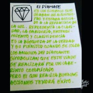 El  Símbolo del Diamante.