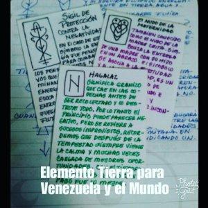 Elemento Tierra para Venezuela y el Mundo.