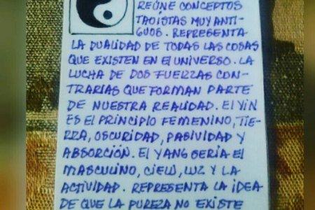 Símbolo: El Yin y el Yang.