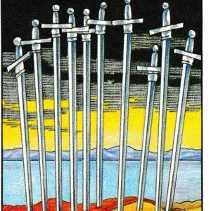 Curso de Tarot: Diez de Espadas